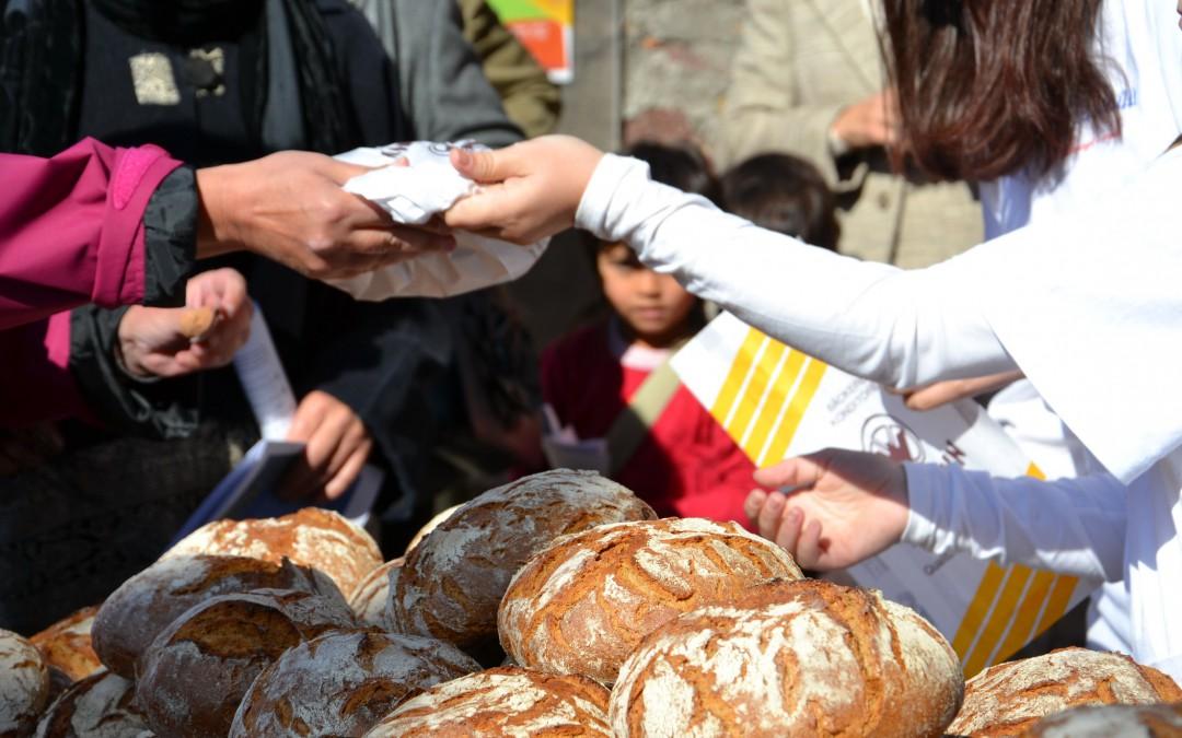 5.000 Brote auch im Radio