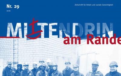 Mittendrin am Rande: Magazin des KDA Bremen zum Thema Zusammenleben und Arbeit