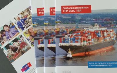 epd Dokumenation zu Freihandelsabkommen erschienen