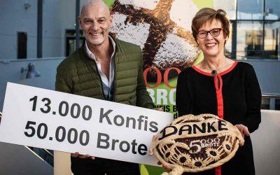 """13.000 Konfirmanden backen mehr als 50.000 Brote – Erfolgreiche Aktion """"5.000 Brote – Konfis backen Brot für die Welt"""""""
