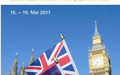 Tagungsreise: London nach dem Brexit -sozialer Zusammenhalt in einer gespaltenen Stadt