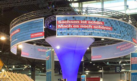 AHK Vorstand informiert sich auf der Mitteldeutschen Handwerkermesse