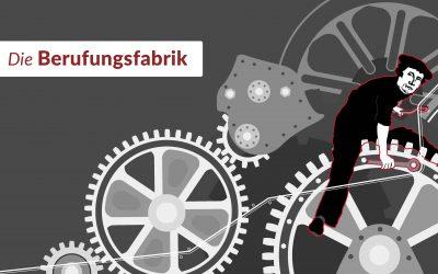 Einladung zur Eröffnung der Berufungsfabrik, 18. Juni 2017 in Wittenberg