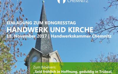 Handwerk und Kirche, 18. November 2017 in Chemnitz