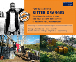 Fotoausstellung BITTER ORANGES ab dem 6. November 2017 in Hamburg
