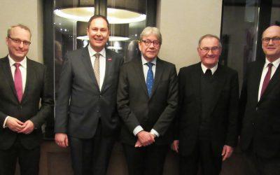 Europa weiter denken – Besuch des Zentralen Besprechungskreises Kirche-Handwerk in Brüssel