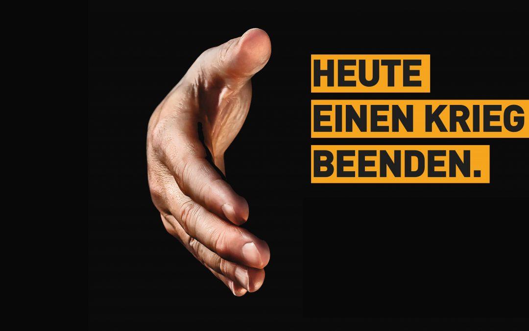 """Predigtentwurf zu Offenbarung 3, 14 – 22  zum Buß- und Bettag 2018: """"Heute einen Krieg beenden"""""""