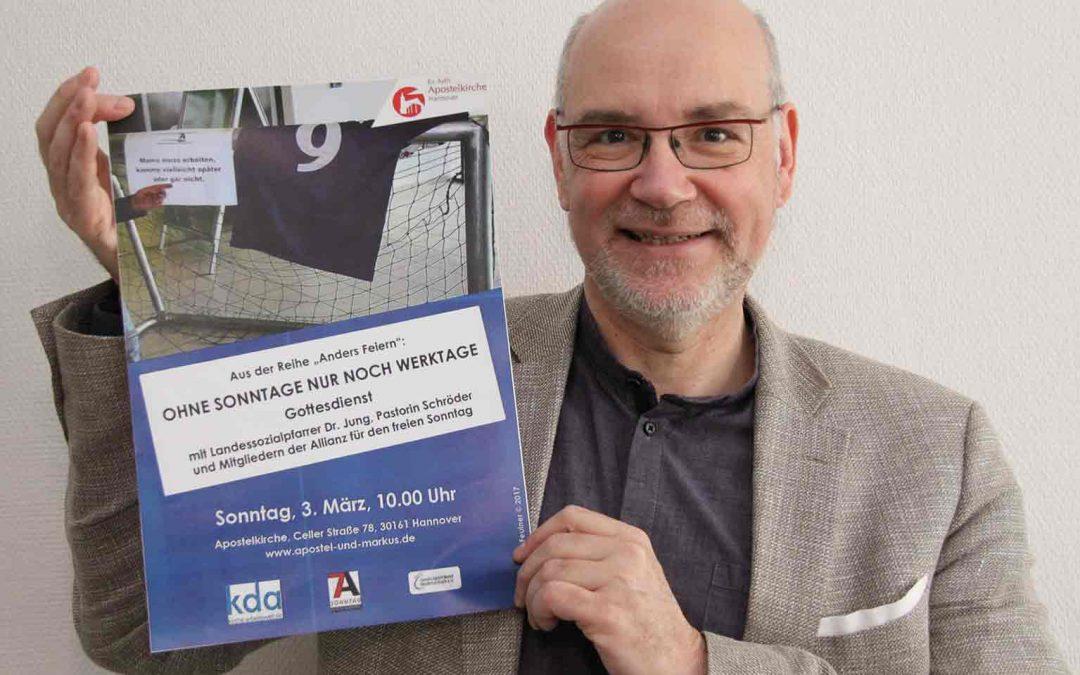 Hannover: interaktiver Gottesdienst am 03. März, Apostelkirche um 10 Uhr