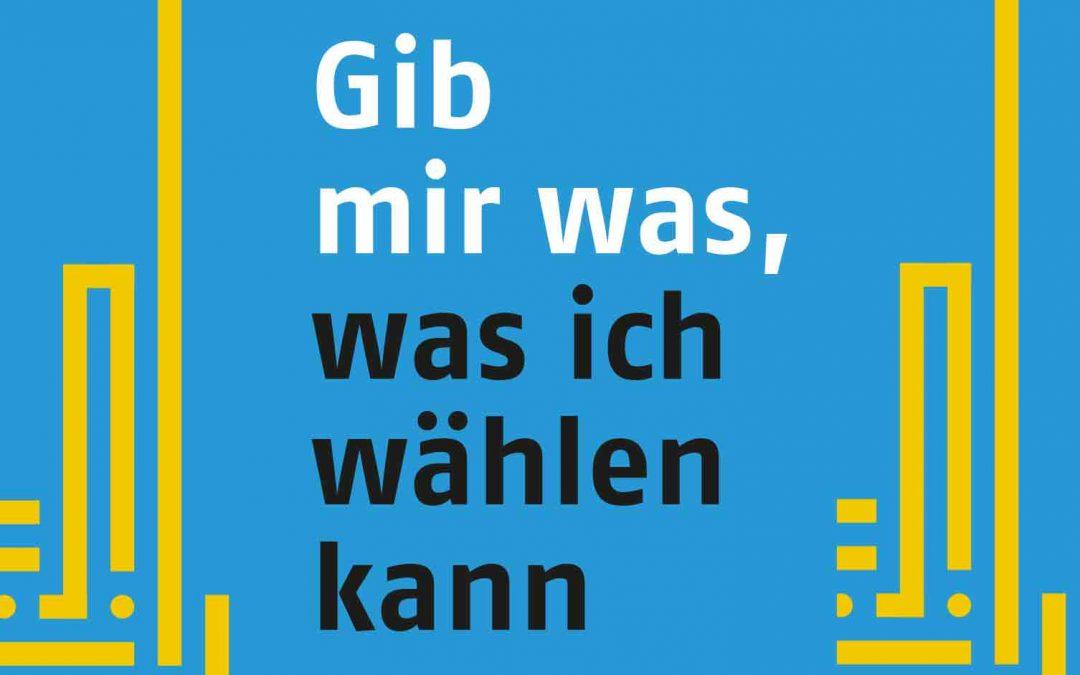 """""""Gib mir was, was ich wählen kann"""" – Veranstaltungsreihe der norddeutschen KDA`s startet am 01. April 2019 in Oldenburg"""
