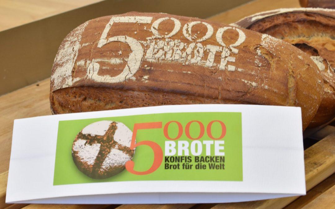 5000 Brote – auch in diesem Jahr wird gebacken