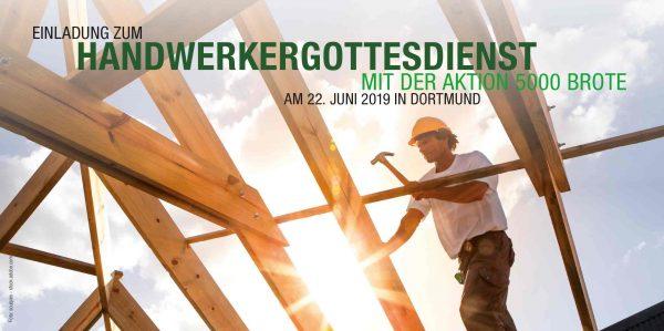 Einladung zum Handwerkergottedienst am 22. Juni 2019