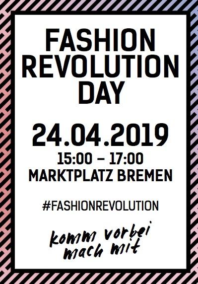 FASHION REVOLUTION DAY – 24.04.2019