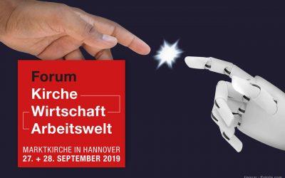 KANN KÜNSTLICHE INTELLIGENZ DIE WELT RETTEN? Forum 27. und 28. September 2019