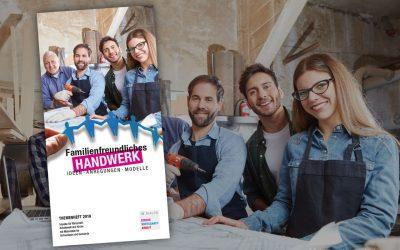 Pünktlich zum Kirchentag: Familienfreundliches Handwerk – Ideen, Anregungen, Modelle