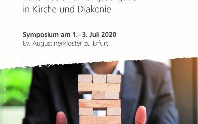 Das Unwägbare gestalten, Symposium in Erfurt vom 01. bis 03. Juli 2020