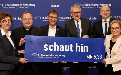 Leitwort für den 3. Ökumenischen Kirchentag in Frankfurt a. M. gefunden
