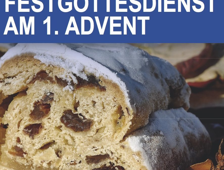 Festgottesdienst am 1. Advent in Hannover