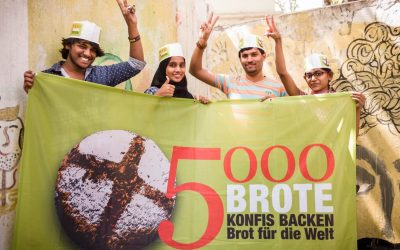 5.000 Brote-Workshop für Konfirmand*innen