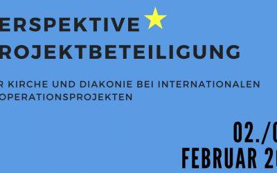 Save the date: Perspektive Projektbeteiligung, 02. und 09. Februar 2021