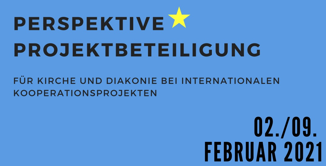 Save the date: Perspektive Projektbeteiligung, 02. und 09. Februar 2021