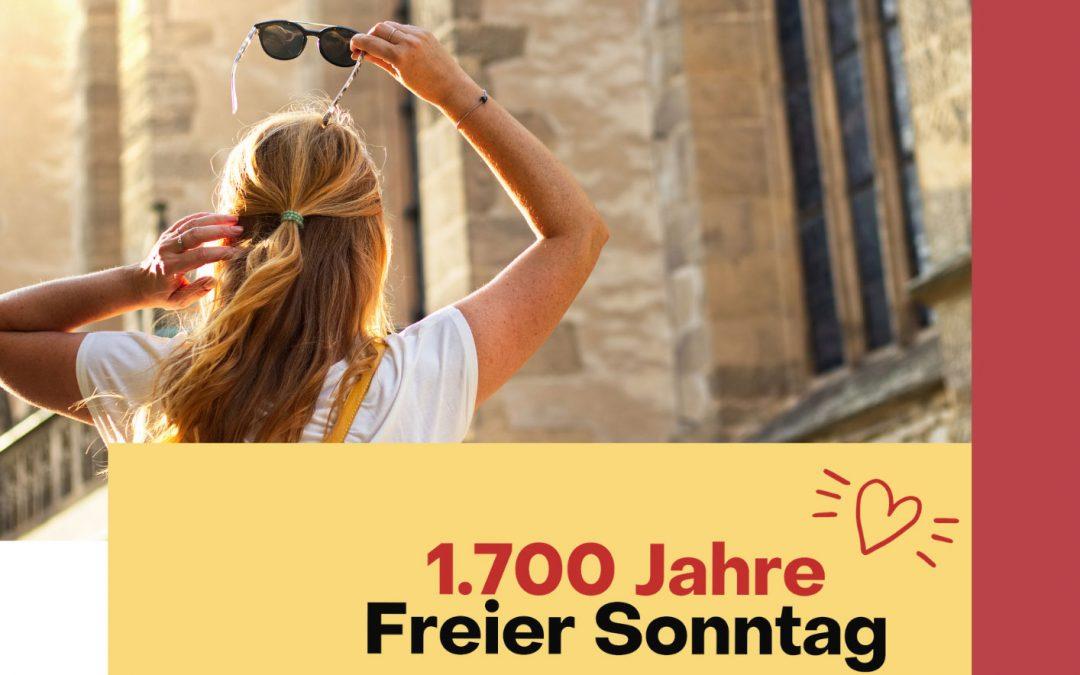 Ökumenische Gottesdienstbausteine zum Jubiläumsjahr 2021 – 1.700 Jahre Freier Sonntag