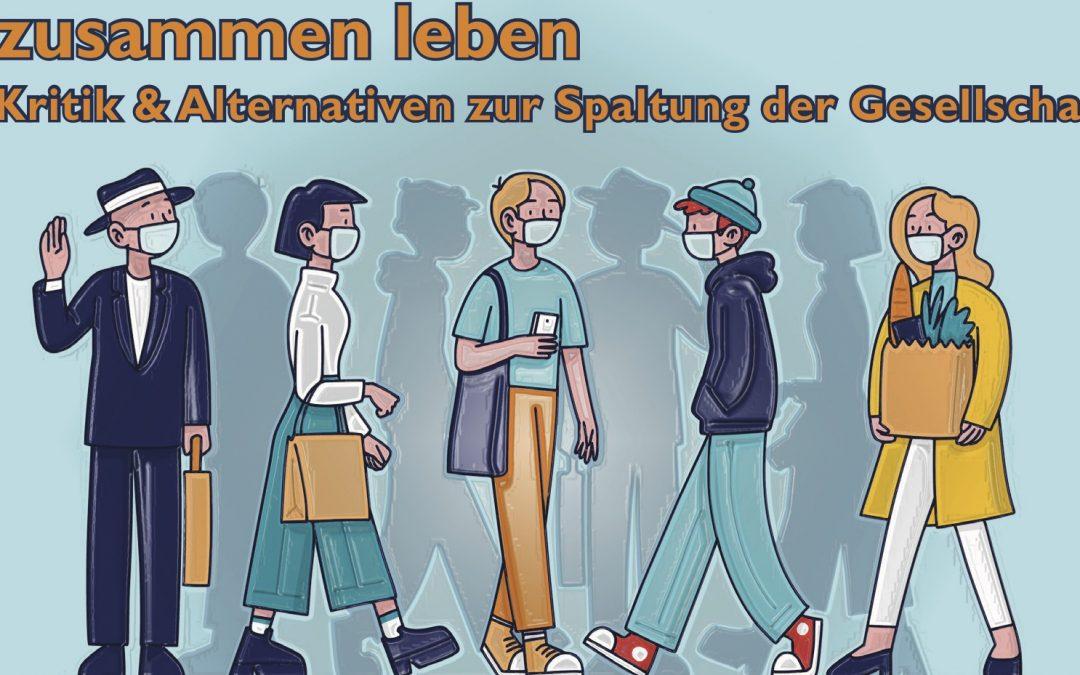zusammen leben – ONLINE-Seminar Politische Theologie,  25. – 27.02.2021