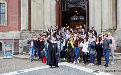 Nachberichterstattung Azubi-Gottesdienst in Hamburg